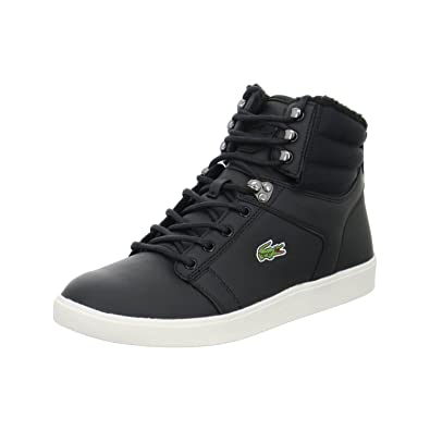 e7b9da6c35bf Lacoste Men s Orelle Put Low-Top Sneakers Black Size  5.5  Amazon.co ...