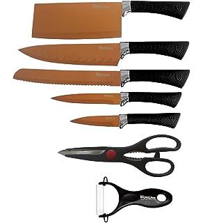 Velaze Cuchillos Cocina Juego de 8 Cuchillos de Cocina de Acero ...