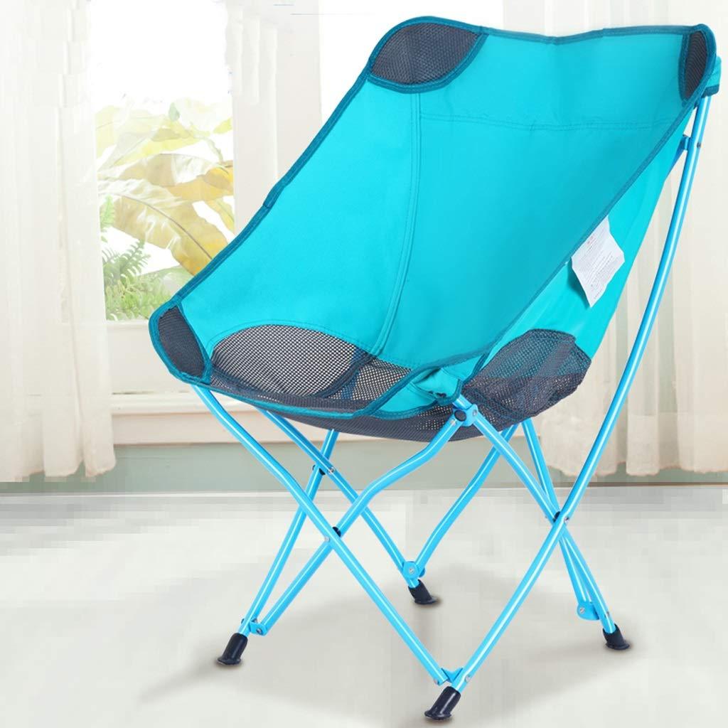 屋外折りたたみ椅子、ポータブルバック、ビーチチェア、釣りチェア、外出に適している、軽量、便利な収納 JSFQ B07SSN855N