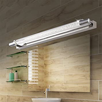 LED Badspiegel Lampe einfache, moderne Edelstahl bubble Acryl ...