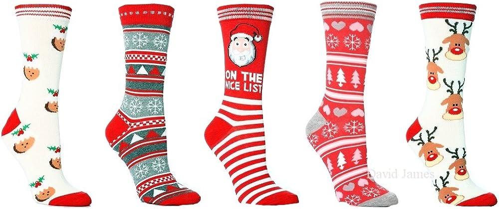 Noël Nouveauté Renne Chaussons chaussettes UK