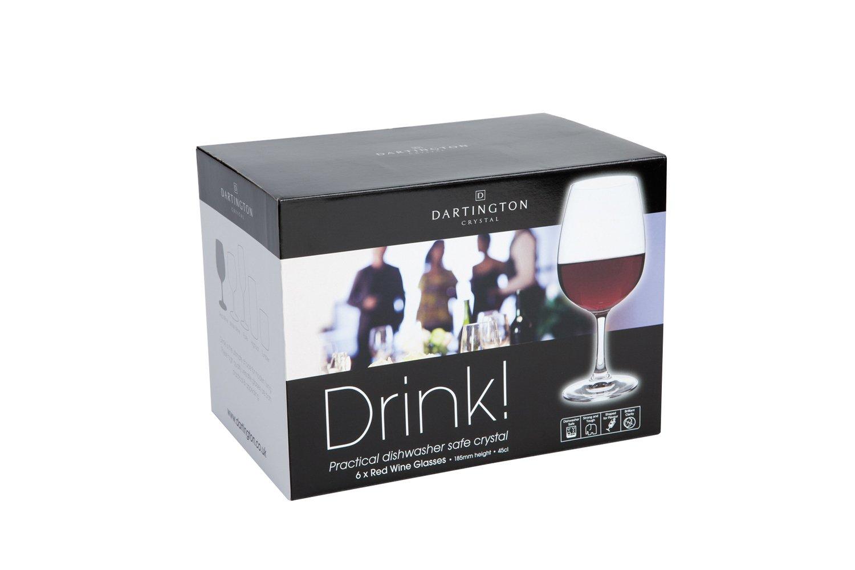 Best Dishwasher For Wine Glasses Dartington Crystal White Wine Glasses 6 Pack Amazoncouk