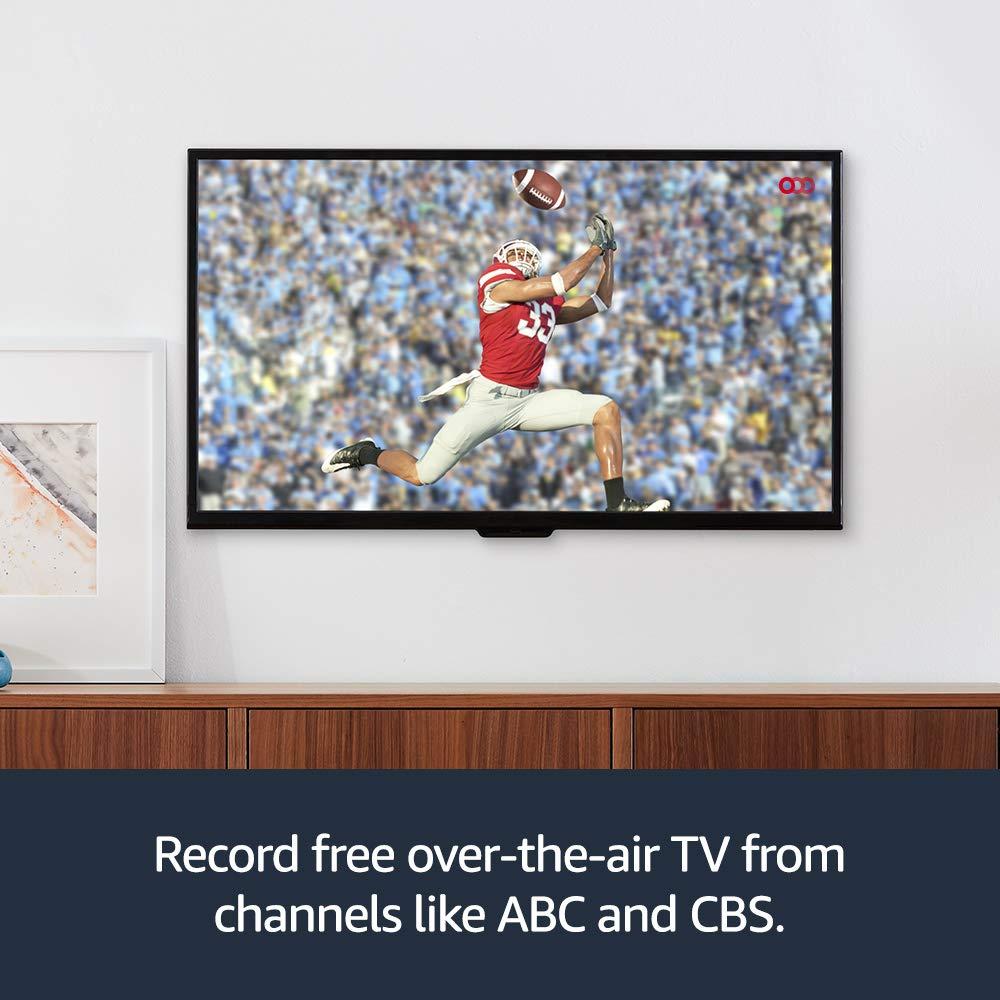 Fire TV Recast overtheair DVR 1 TB 150 hours DVR for cord cutters