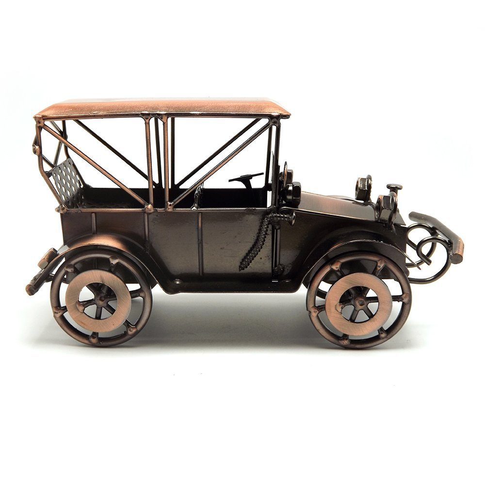Amazon.com: Tipmant Metal Antique Vintage Car Model Home Décor ...