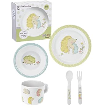 Ganz 5 Piece Melamine Children\u0027s Dinnerware Plate Set - Roly Poly Hedgehogs  sc 1 st  Amazon.com & Amazon.com : Ganz 5 Piece Melamine Children\u0027s Dinnerware Plate Set ...