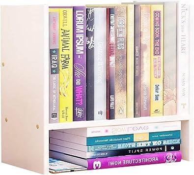 BOOK CASE Estantería para Libros, estantería, estantería de Mesa Simple, Estante de Oficina, Mini Estante, Simple Estante de Almacenamiento de Escritorio, estanterías, Muebles.: Amazon.es: Juguetes y juegos