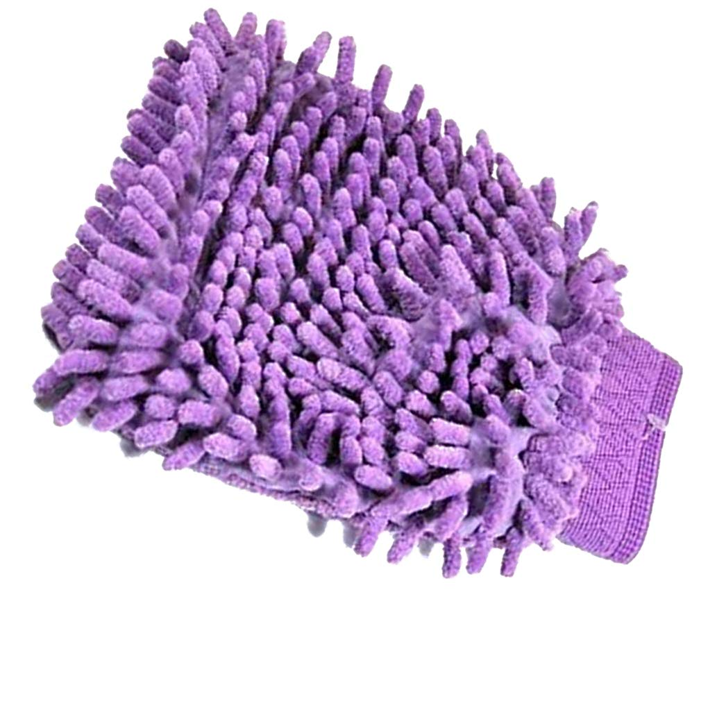 Morza Mitt Microfiber Chenille Car Window Washing Home Cleaning Cloth Duster Towel Gloves Wash Tool