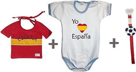 Zigozago – Juego Mundial España compuesto de babero + Body + para ...