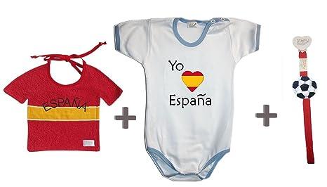 Zigozago - Juego Mundial España compuesto de babero + Body + ...