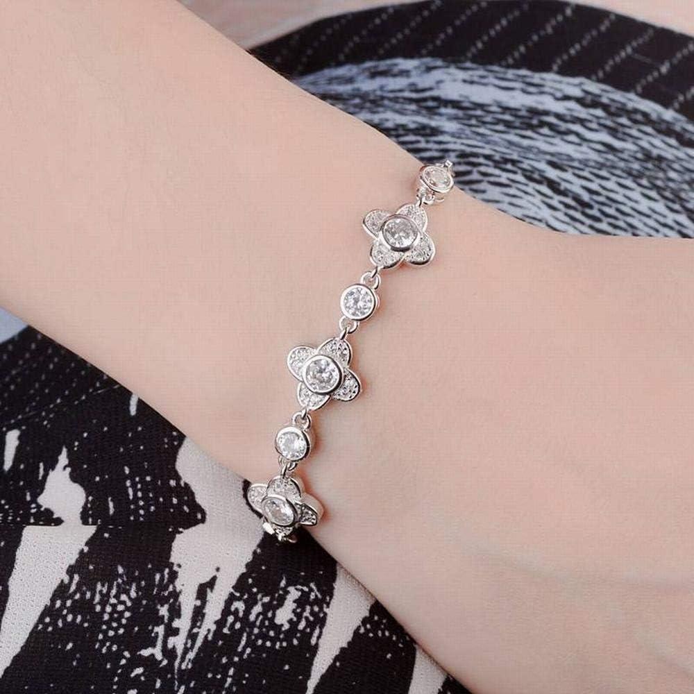 LOt Bangles Bracelets Four-Leaf Clover Bracelet Female Simple Student