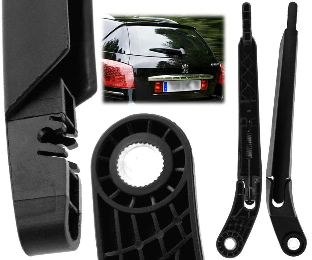 Limpiaparabrisas trasero y cuchilla para Peugeot 407 SW/Citroen C5 Estate KOMBI: Amazon.es: Coche y moto