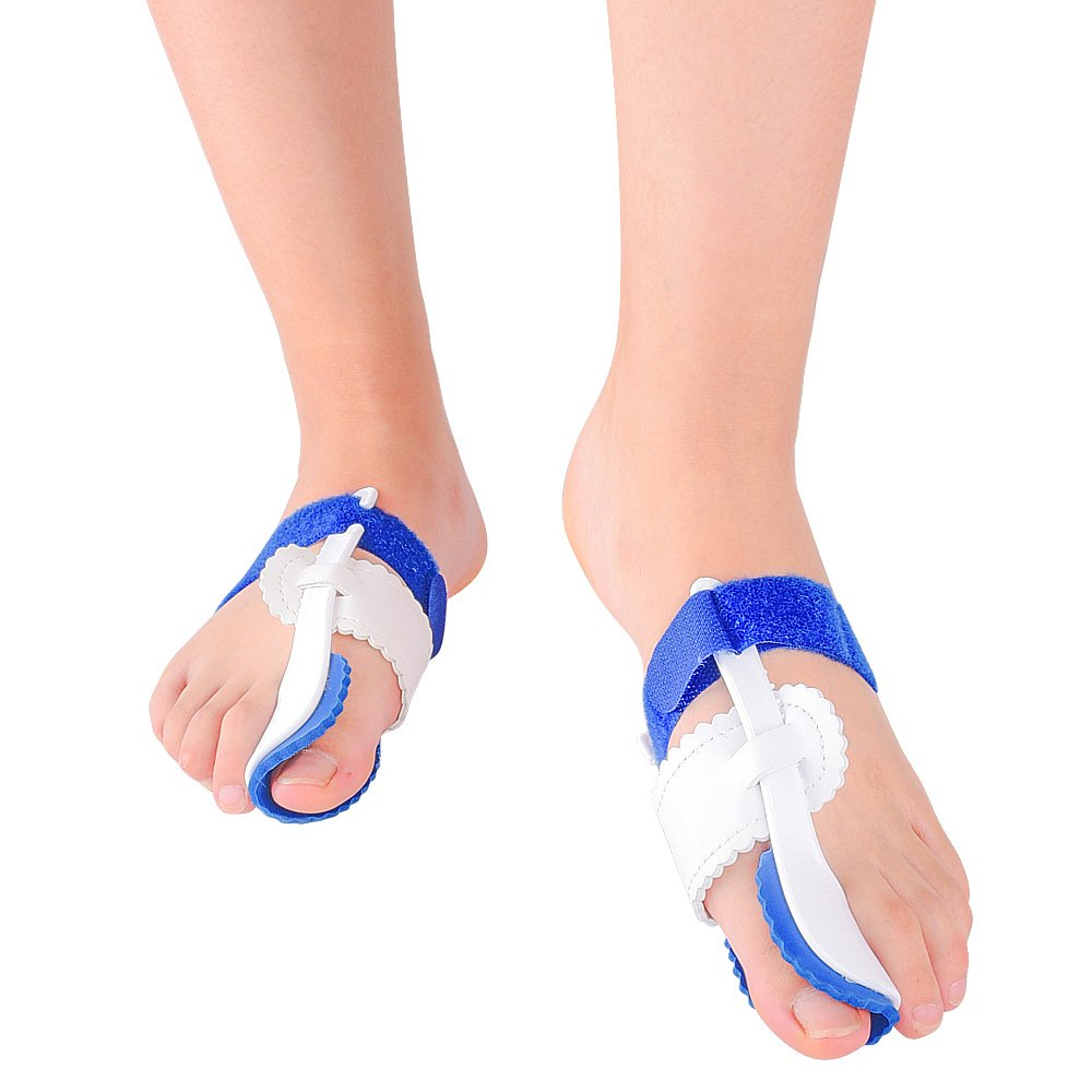Kasee Orthopedic Bunion Corrector Adjustable for Multiple Foot Sizes Wear at Night