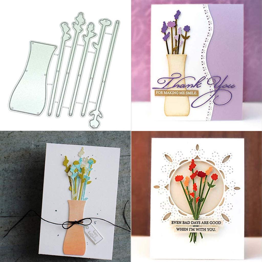 Be Kind Flower Metal Cutting Dies or Stamps For Scrapbooking Card Making Album