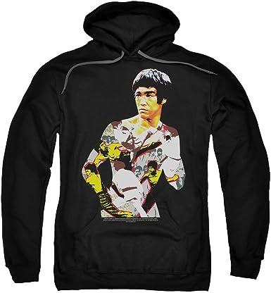 Bruce Lee Gift Set Licensed Adult Pullover Hoodie