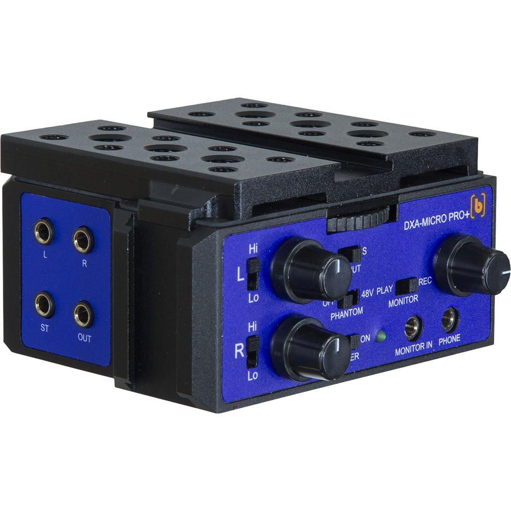 Beachtek DXA-Micro-Pro Plus Active Audio Adapter for DSLRs and Camcorders by BeachTek