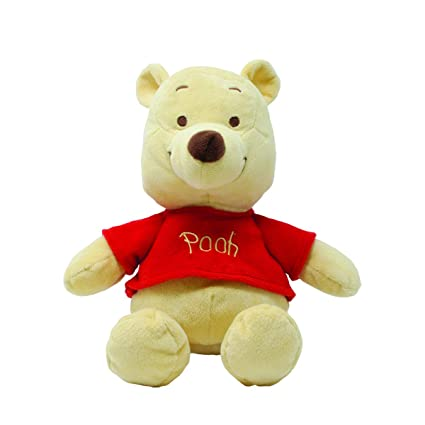 cc81c6b1da91 Amazon.com   Disney Baby Winnie the Pooh Small Stuffed Animal