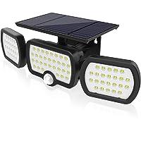 Luz Solar Exterior, JESLED 3 modos de iluminación Luz solar de seguridad, Con iluminación gran angular de 360…