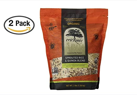 truRoots - Bolsa de mezcla de arroz y quinoa ecológica con ...