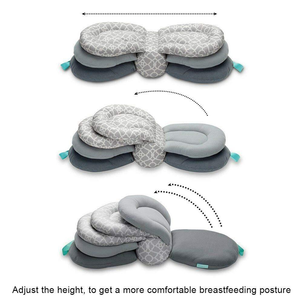 mehrlagig verstellbar waschbar Modell Baby-Kissen Multifunktions-Stillkissen