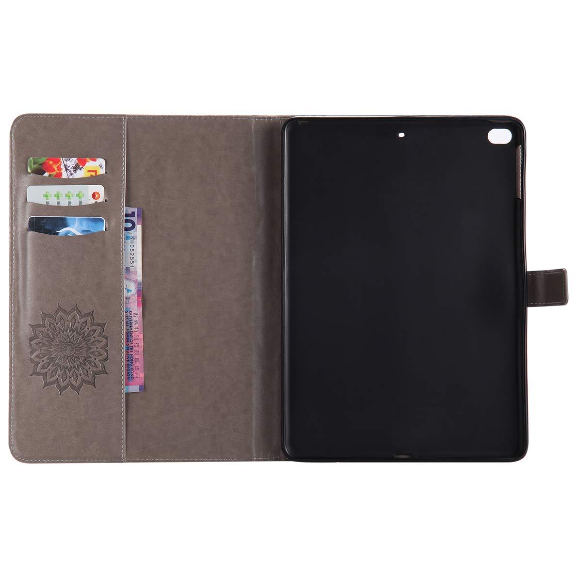 Coque iPad Air//Air 2 1 x Stylet SHUYIT /Étui Housse en PU Cuir Flip Case de Protection Rotatif Etui Cover avec la Fonction Sommeil//R/éveil Automatique pour Apple iPad Air//Air 2