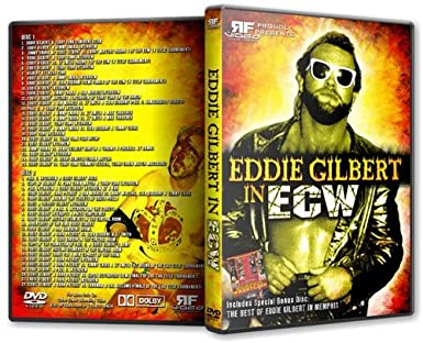 Amazon.com: Eddie Gilbert in ECW Wrestling DVD-R Set: Eddie ...