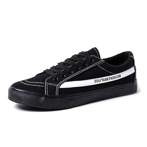 Zapatos Deportivos Planos para Hombres Mocasines Casuales Zapatos con Cordones Suela Superior Antideslizante,Zapatos de Cricket: Amazon.es: Zapatos y ...