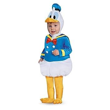 ディズニー ドナルドダック ドナルド コスチューム 着ぐるみ 6,12ヶ月 赤ちゃん用 ハロウィン コスプレ コスチューム 衣装