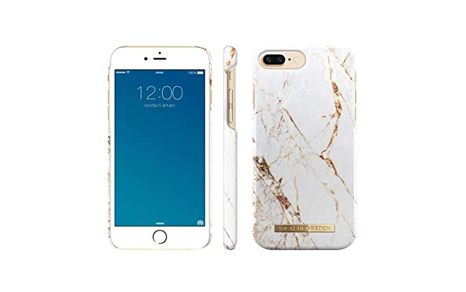 online store 80d64 17594 iDeal Of Sweden Carrara Gold Cell Phone Case for iPhone 8/7/6/6s
