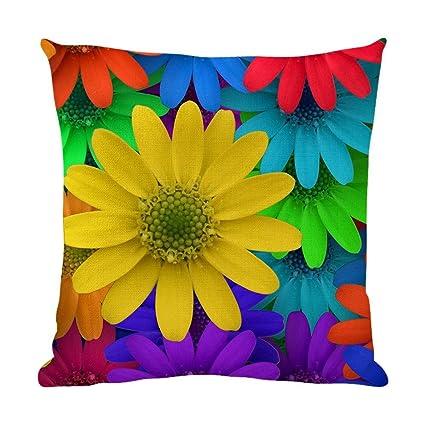 Amazon.com: yenoye-sm flores de colores jardín de casa sofá ...