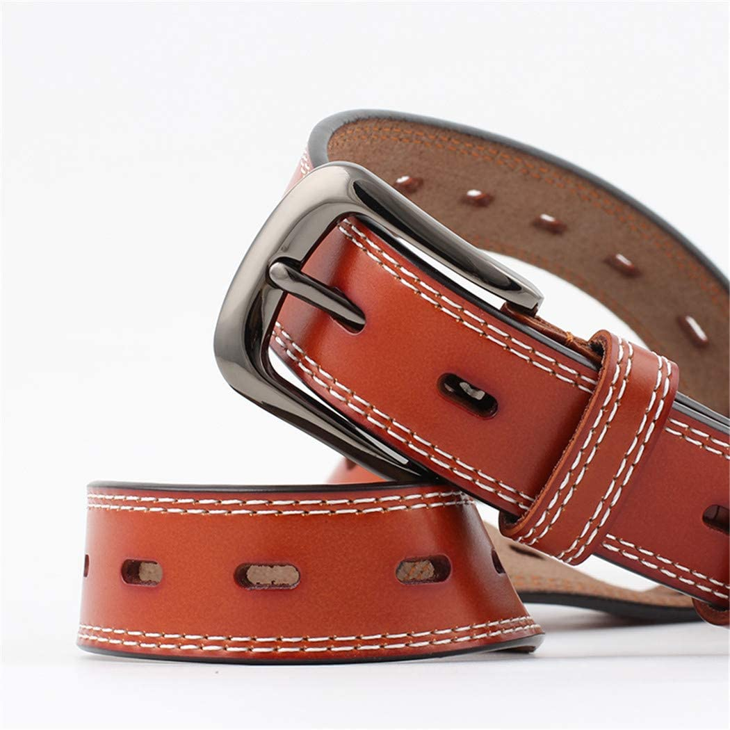 XWBO Womens Retro Belt Square Metal PU Leather Buckle Waist Belts Fashion Pants Belt