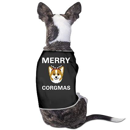 21aa55c7 Amazon.com : Cool Merry Corgmas Corgi Dog Shirt : Pet Supplies