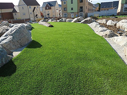 New 15' Foot Roll Artificial Grass Pet Turf Synthetic SALE! Many Sizes! (88 oz 15' x 40' = 600 Sq feet) by Artificial Grass Wholesalers (Image #5)