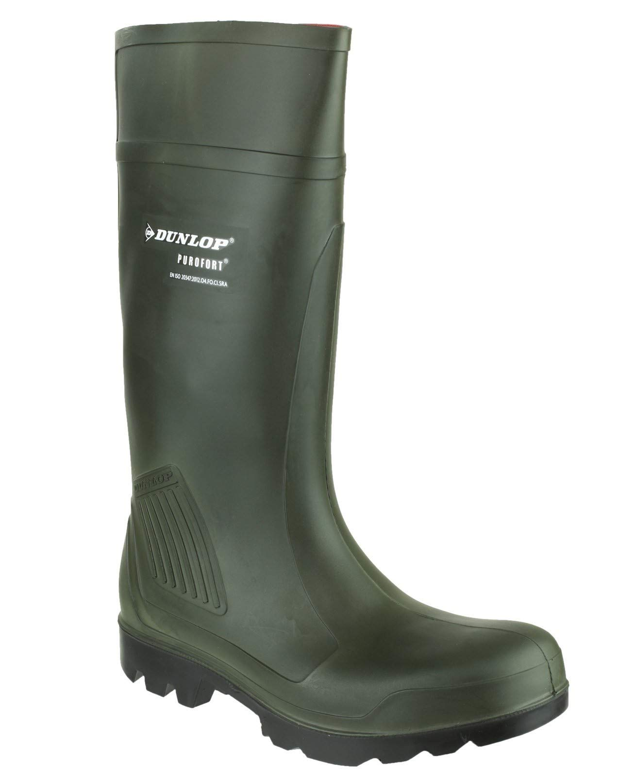 Dunlop Purofort Professional Dark Green/Black, Without Steel Toe D460933 Size - 11 by Dunlop