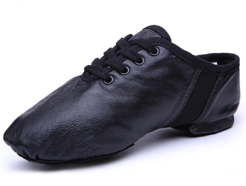 XW WX Chaussures De Danse Pour Adultes Chaussures De Jazz En Cuir Chaussures De Danse Nationales Douces Botting Shoes Intérieur Rouge Chaussures 34-40 TIANXING