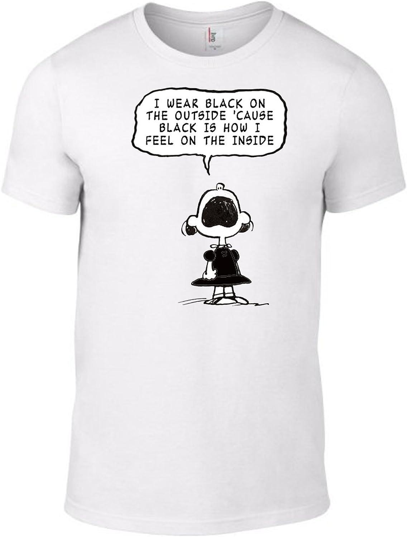 CHILDREN SIZES THE SMITHS PANIC Lyrics T-Shirt Peanuts Charlie Brown Morrissey
