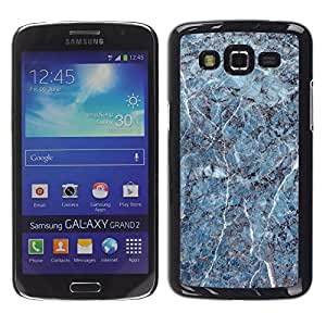 MOBMART Carcasa Funda Case Cover Armor Shell PARA Samsung Galaxy Grand 2 - The Cracked Cemented Pattern
