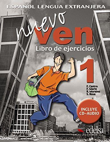 Nuevo ven. Libro de ejercicios. Per le Scuole superiori. Con CD Audio. Con espansione online: Nuevo Ven. Libro de Ejercicios 1