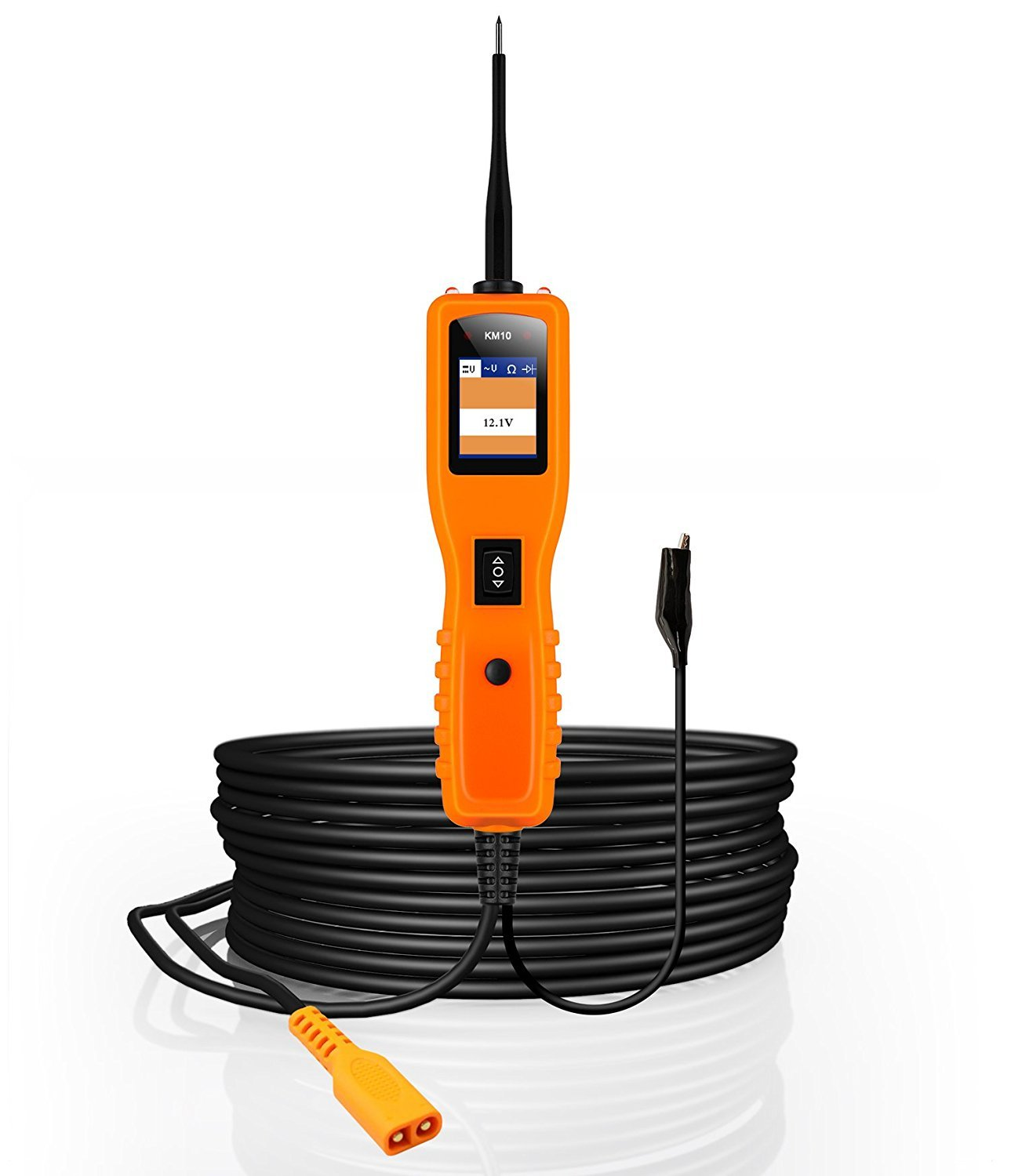 Kzyee Km10 Power Circuit Probe Kit Automotive Tester With How To Measure In A Auto Electrical System Testing Functions