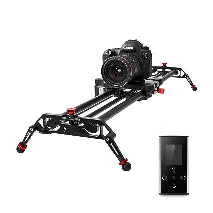 Sistema de riel deslizante para cámara con solapa motorizada y ...