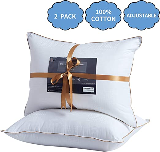 Hot Buckwheat Pillow Natural Striped Roll Pillow Practical Cervical Spine Care