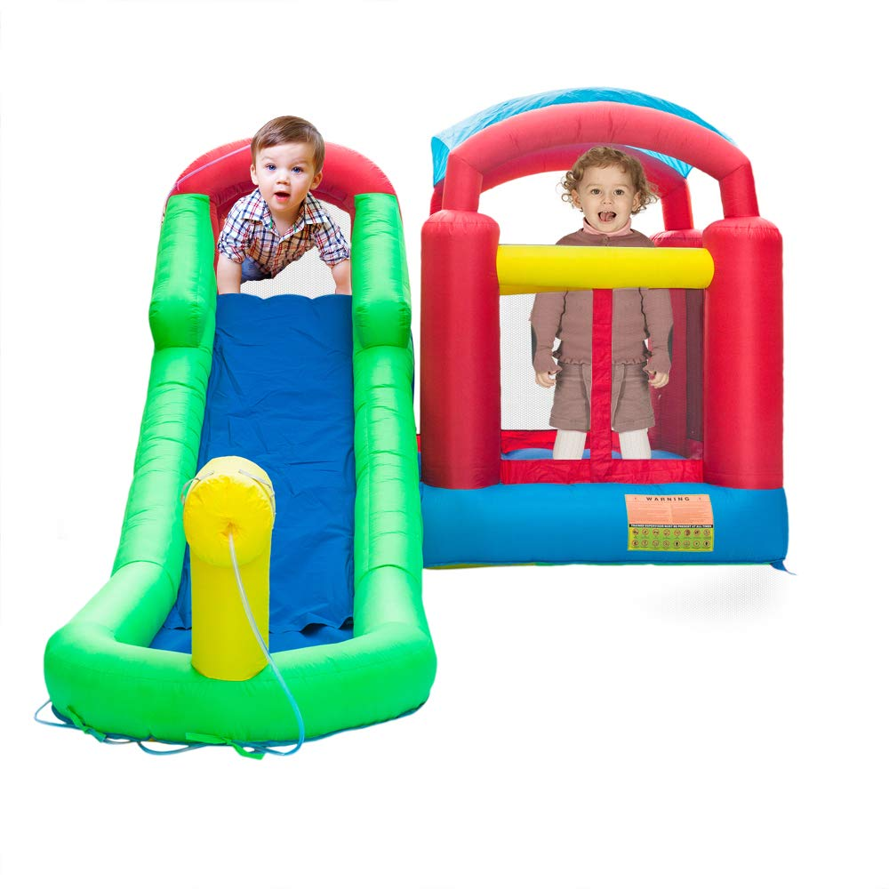 ATI Inflatable Moonwalk Water Slide Pool Bounce House Jumper Bouncer Castle by ATI (Image #3)