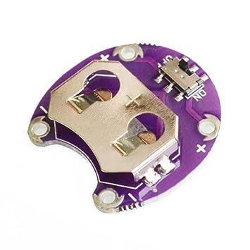 Business & Industrie Knopfzelle Batteriehalter CR2032 Akku-Halterung für Arduino  X