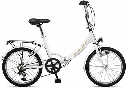 Bicicleta plegable Orbita Evora 20 – blanco 2018: Amazon.es ...