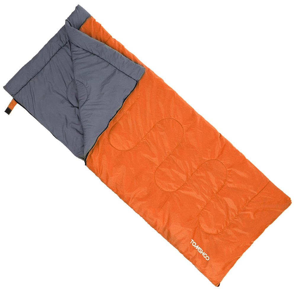 TOMSHOO Saco de Dormir Té rmico de Adulto Multifunció n Sleeping Bag de Forma Envolvente 200X80CM