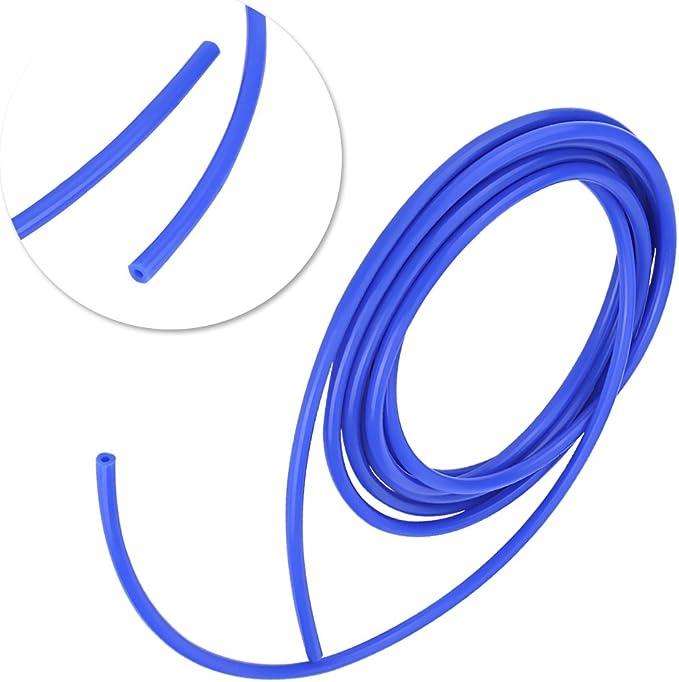 Azul -60 ~ 260 ℃ Di/ámetro Interno de 4mm Manguera de Vac/ío de Silicona de 4 Mm Tubo de Vac/ío de Silicona Universal Car 5 Metros de Silicona Tubo de Vac/ío Tubo de Manguera de Silicona