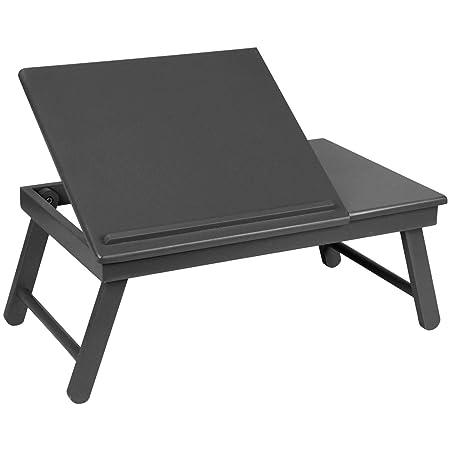 Promobo - Bandeja plegable para ordenador mesa auxiliar ajustable ...