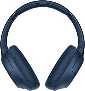 Sony WH-CH710N Noise Cancelling Wireless Headphones with 35 Hours Battery Life, Quick Charge, Built-in Mic and Voice Assistant - Blue