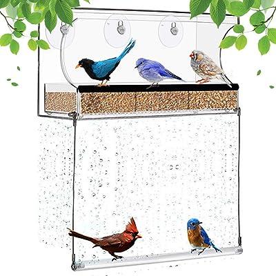 Miracliy Window Bird Feeder