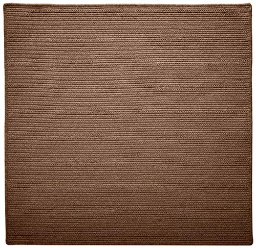 (Westminster Square Area Rug, 4 by 4-Feet, Bark)