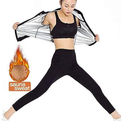 MINIRAH! Trajes de Sudoración Mujer para Fitness y Ejercicio ...